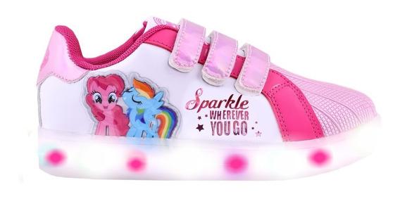 Zapatillas Mi Pequeño Pony Multi Luz Footy 113 Mundo Manias
