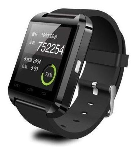 Smartwatch U8 Reloj De Pulsera Bluetooth Ios Android Teléfo