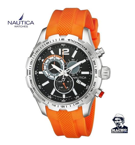 Reloj Nautica Nst 30 Nad15510g En Stock Original Garantía