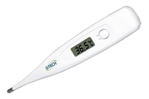 Imagem 1 de 5 de Termometro Clinico Digital G-tech Modelo Thgth150b-s Branco