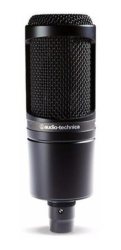 Imagen 1 de 5 de At2020 Audiotechnica Micrófono De Condensador Cardioide