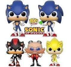 Funko Pop Sonic Excelente Calidad 12 Cm Fotos Reales Mirá