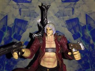 Dante - Devil May Cry - Kaiyodo Revoltech - Sheldortoys