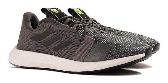Tênis Running adidas Masculino Senseboost Go Ef1581 Chumbo