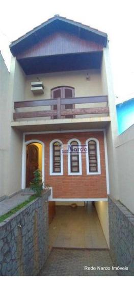 Casa Para Alugar Em Bragança Paulista, Centro - Ca0243