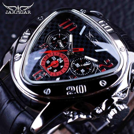 Relógio Masculino Jaragar Geométrico