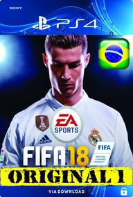 Fifa 18 | Fifa 2018 Ps4 Psn Digital Code 1 - Envio Imediato