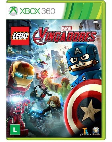 Game Lego Marvel Vingadores - Xbox 360 - Mídia Física