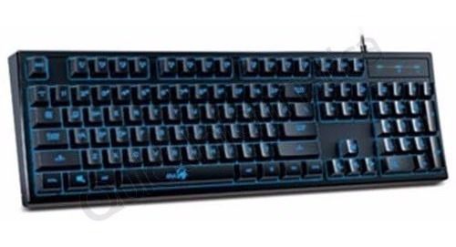 Teclado Gamer Usb Genius Scorpion K6 Mecanico Anti-fanta /vc