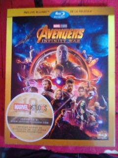 Blu-ray Disc Avenger Infinity War Marvel