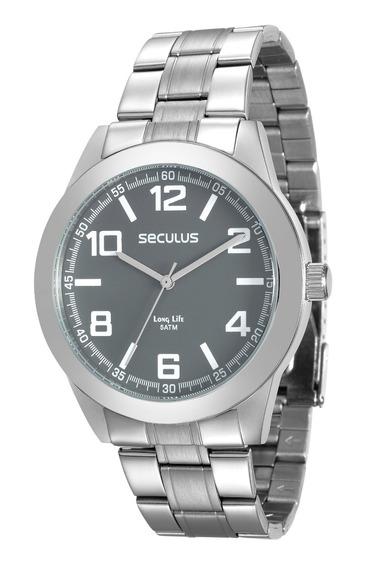 Relógio Seculus Masculino 28867gosvna1