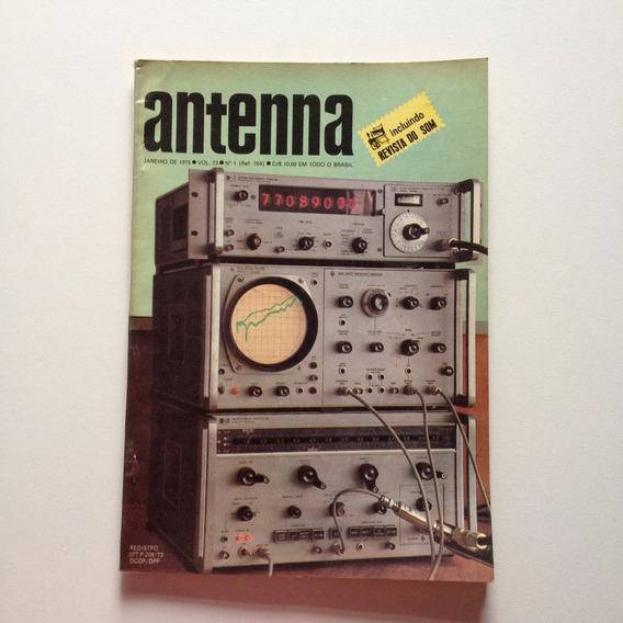 Revista Antenna Nº 01 Janeiro De 1975