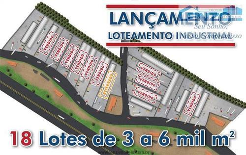 Terrenos Industriais À Venda  Em Bragança Paulista/sp - Compre O Seu Terrenos Industriais Aqui! - 1401634