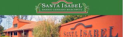Lote A Laguna En Barrio Privado Santa Isabel Ing. Maschwitz