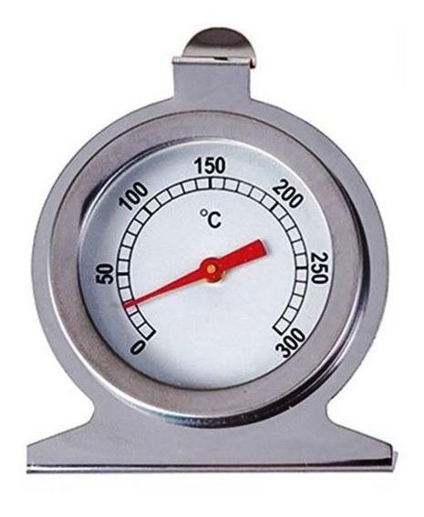 Termômetro De Forno Inox Para Cozinha Pizzaria Estufa 300ºc
