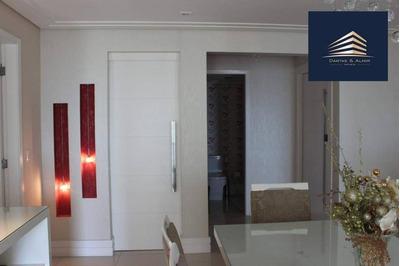 Apartamento No Condomínio Parque Clube, 150m³, 3 Suítes, 2 Vagas, Aceita Permuta. - Ap0659