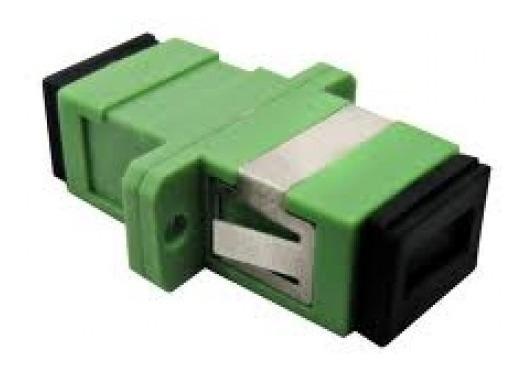 100pçs Adaptador Acoplador Óptico Simplex Monomodo Sm Sc-apc