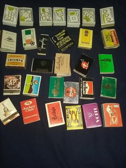 Lote De 72 Cajas Y Sobres De Fosforos Coleccionables