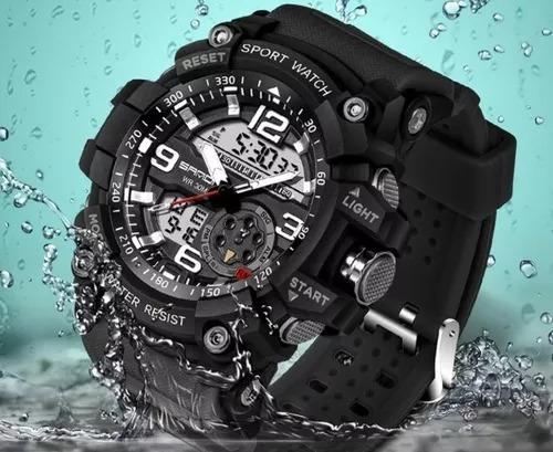 Relógio Masculino Sanda Luxo Barato Frete Grátis