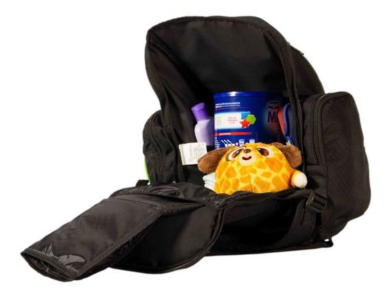 Bolsa Mochila Multifuncional Para Bebê Porta Objetos Fraldas
