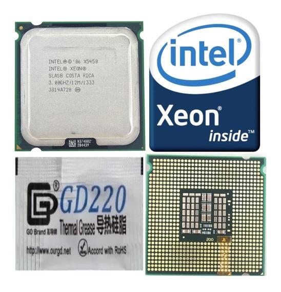 Processador Intel Qd Core Xeon X5450 3ghz 12mb 775 Seminovo