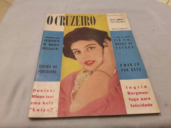 O Cruzeiro 18/10/58 Miss Minas Denise/clark Gable/castilho