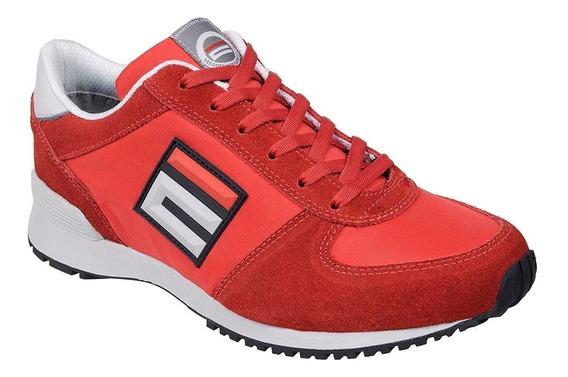 Tênis De Segurança Esportivo Energy Super N° 43 Vermelho-est