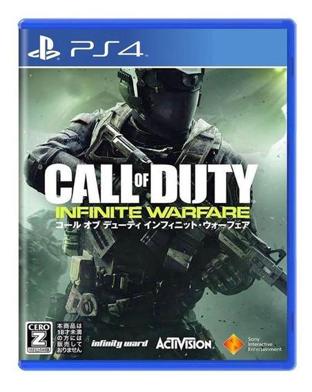 Call Of Duty Infinite Warfare Ps4 Mídia Física