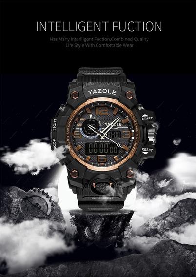 Relógio Esportivo Militar Marca: Yazole Frete Grátis
