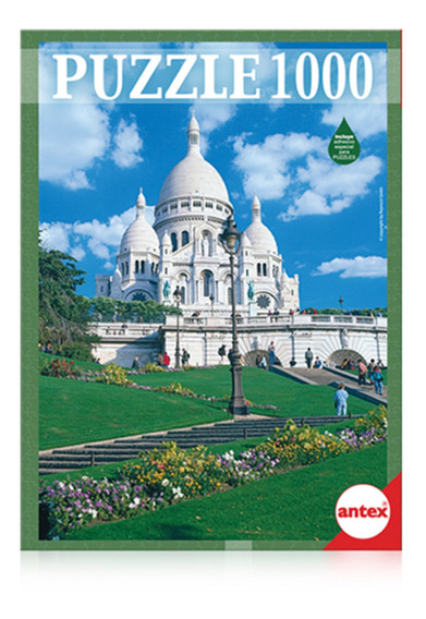 Puzzle De 1000 Piezas Sagrado Corazon Paris