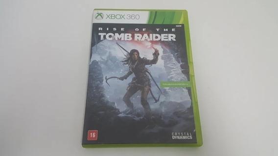 Jogo Rise Of The Tomb Raider Xbox 360 Original Em Português