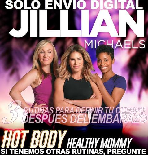 Jillian Michaels Cuerpo Sexy,mami Saludable Sin Pesas Tonifi
