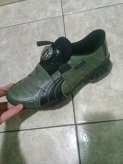 Puma Disc Novo Original Verde Escuro