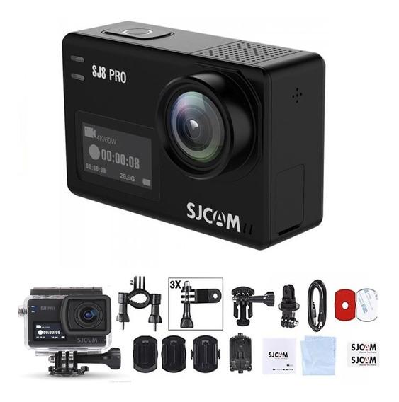 Câmera De Ação Sjcam Sj8 Pro Original 4k 60fps Wifi 12mp