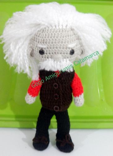 Einstein De Colección Crochet Amigurumi¡¡