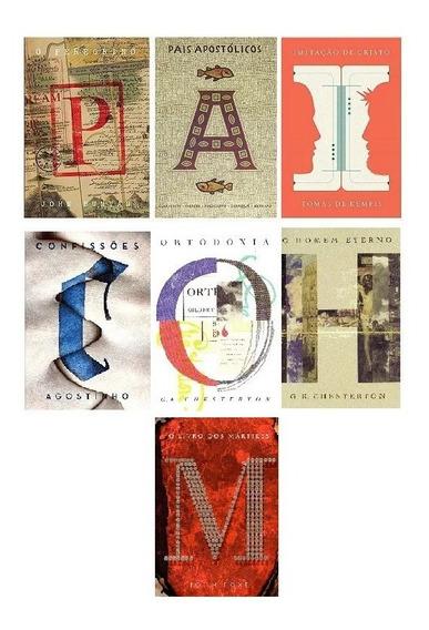 Box Clássicos Da Literatura Cristã - 7 Volumes