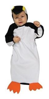 Deluxe Penguin Bunting Baby Costume - Recien Nacido