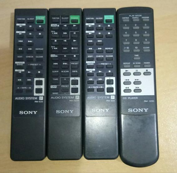 Controles Remoto Som Sony Originais
