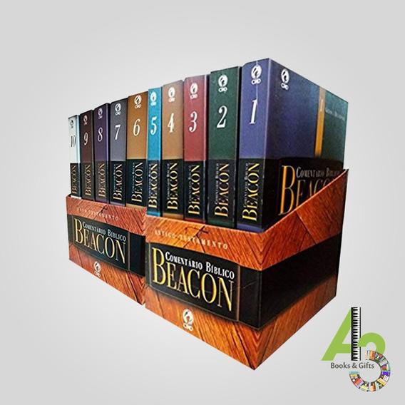 Lr12 Comentário Bíblico Beacon Capa Brochura At Nt 10 Vol