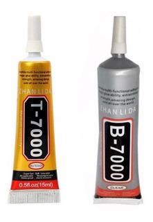 Cola P/ Colar Celular T7000 B7000 Preta Ou Transparente 15ml