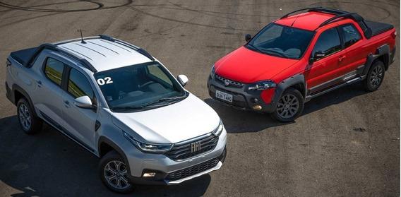 Tomo Usado O Moto O $130.000 Fiat Strada 2020 Volcano 1.3 X-