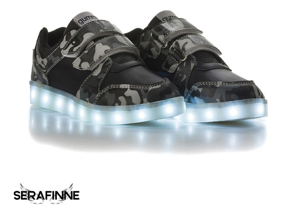 Zapatilla Luces Led Gummi Niña Niño Gummi Super Star