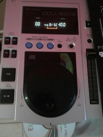 Cdj Pioneer 100s + Mixer Gemini Ps-3