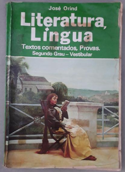 Jose Orind Literatura Lingua Textos Comentados Provas Vestib
