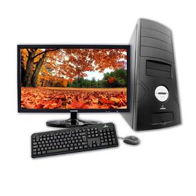 Computador + Monitor 18.5 Concordia Dual Core 4gb Ssd120gb