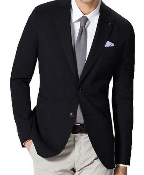Saco Entallado Hombre Blazer De Vestir Varios Colores, Local