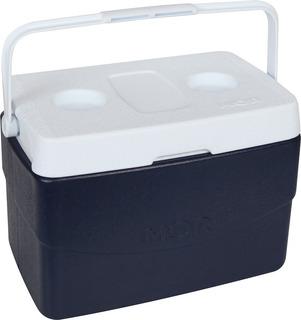 Caixa Térmica Cooler Reforçada Glacial Azul 20 Litros Mor