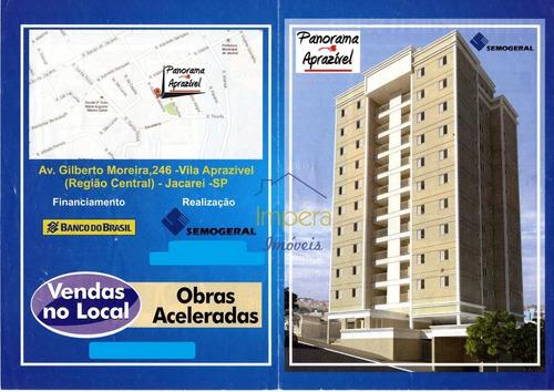 Imagem 1 de 30 de Apartamento Panorama Aprazível Com 2 Dormitórios À Venda, 70 M² Por R$ 225.000 - Vila Aprazível - Jacareí/sp - Ap0484