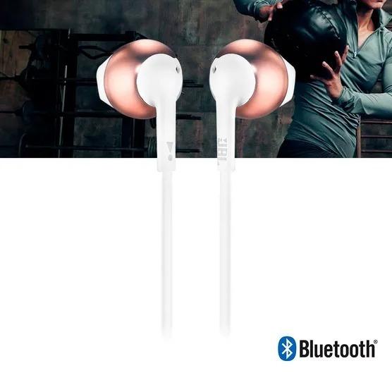 Fone Jbl T205 Bluetooth Sem Fio Garantia Nacional Gold Rose