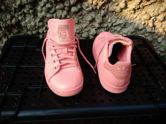 Tênis adidas Stan Smith Novo Rosa Rosê Unissex